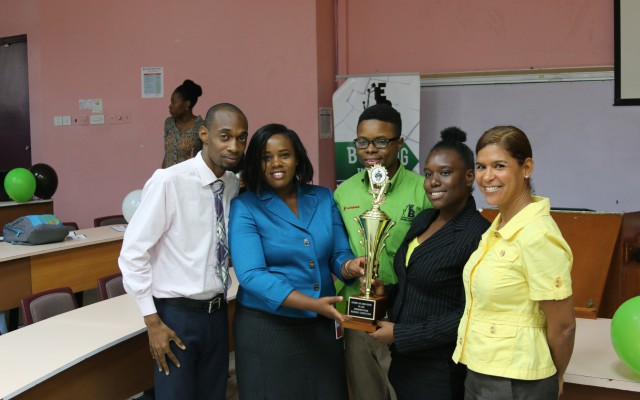UWI Entrepreneurship Society Hosts Business Model Competition