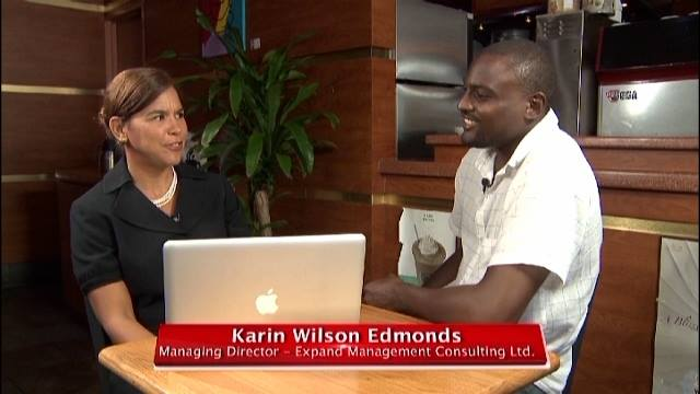 Karin Wilson Edmonds Guest Business Advisor on the Innovators TV Show